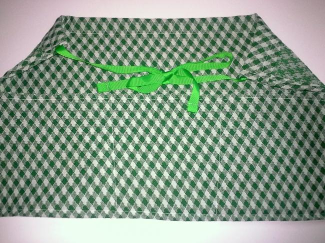 poly knit utility apron